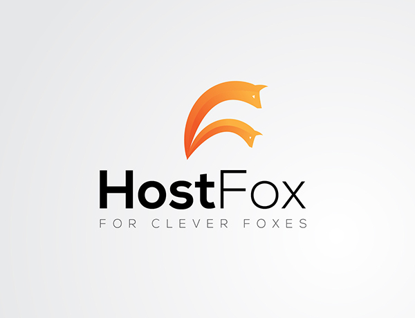 HostFox Logo Design