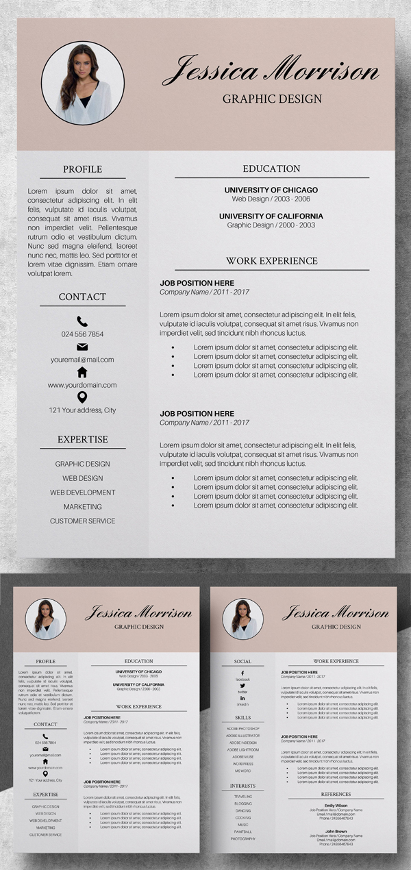 Elegant Resume Template | CV