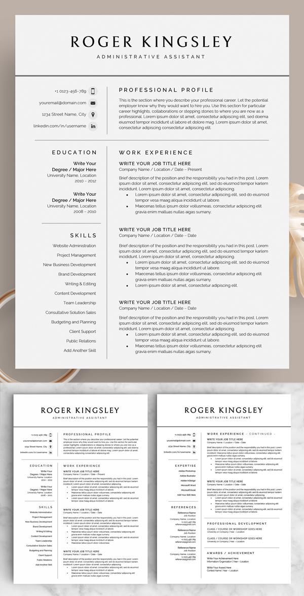 Resume / CV - The Roger