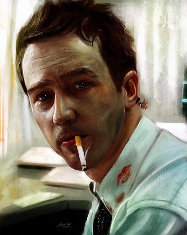 Amazing Digital Illustration Portrait Paintings by Ahmed Karam - 10