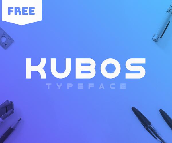 Kubos Free Font
