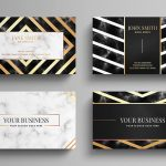 24 Premium Business Card Templates (In Photoshop, Illustrator, & InDesign Formats)