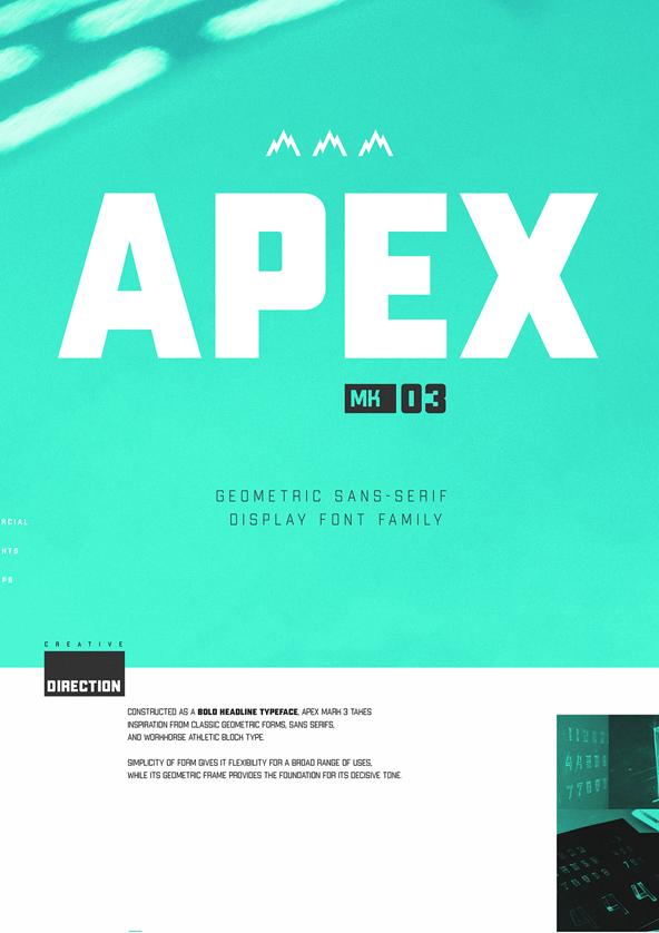 Apex Mk3 Free Font
