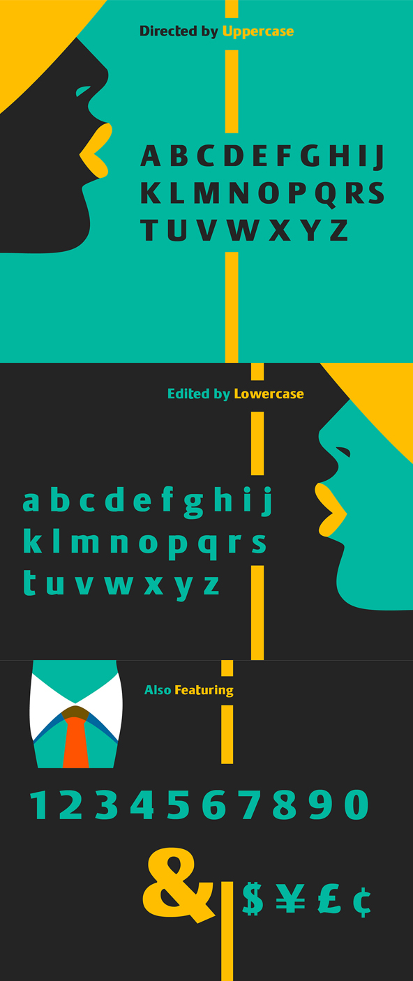 BigBro Font Letters