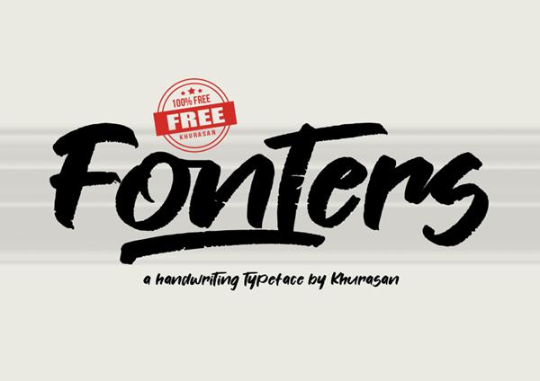 Fonters Free Font