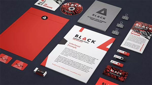 Free Awesome Branding Stationery PSD Mockups