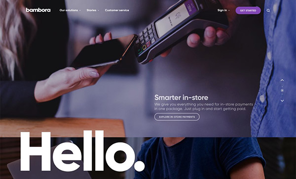 Fresh Web Design Examples That Follow New Trends - 11