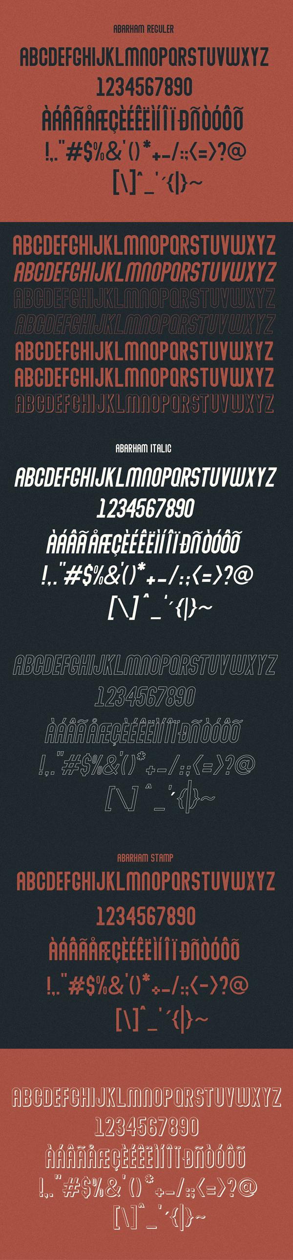 Abraham Font Letters