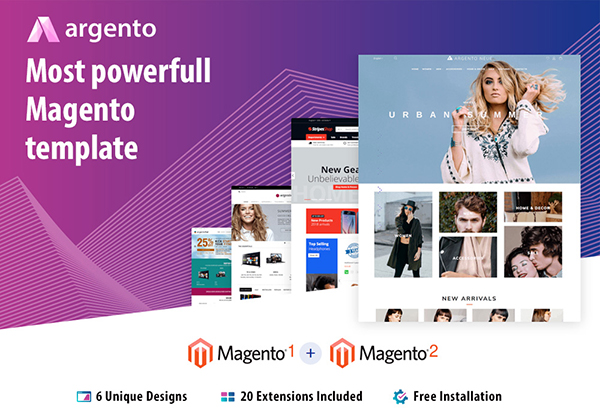 Argento – Most Powerful Magento Theme