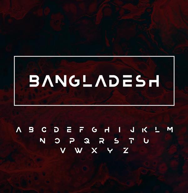Bangladesh Free Font