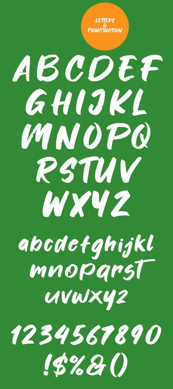 Fontjek Font Letters