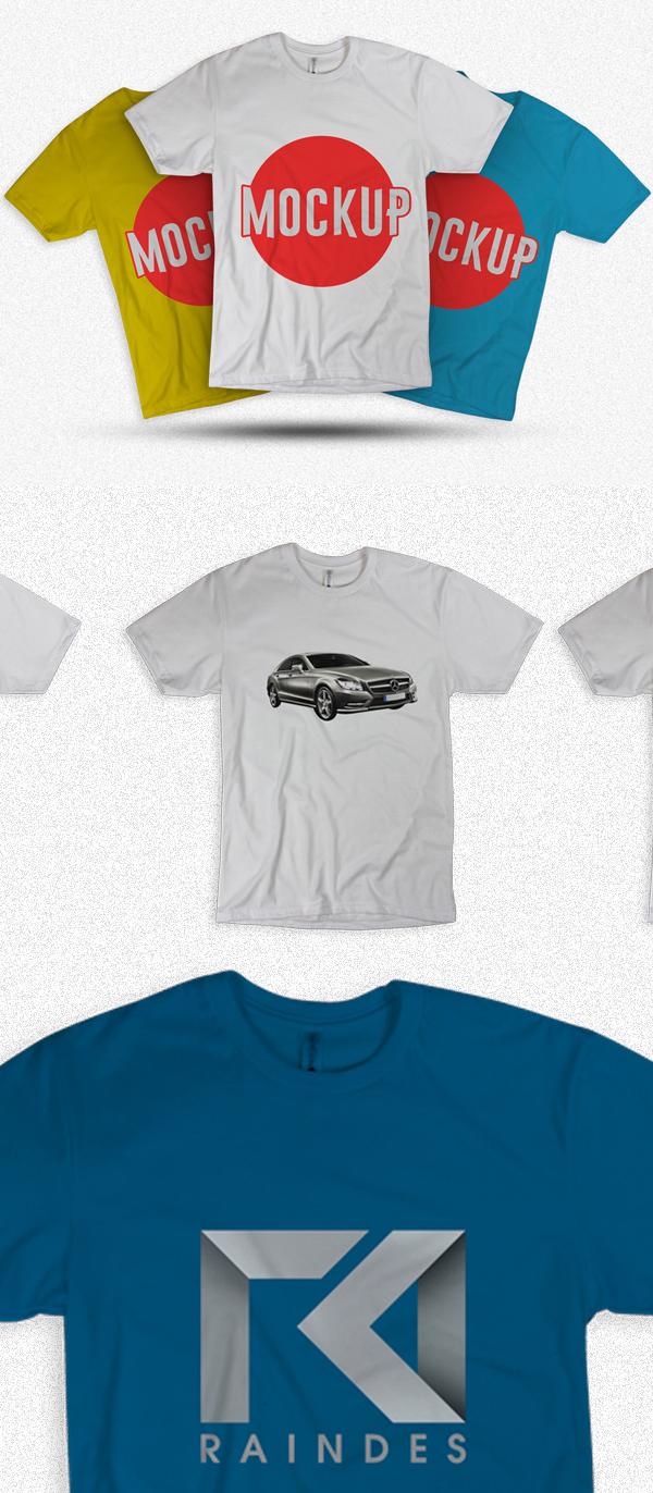 Free T-Shirt Mockup Templates
