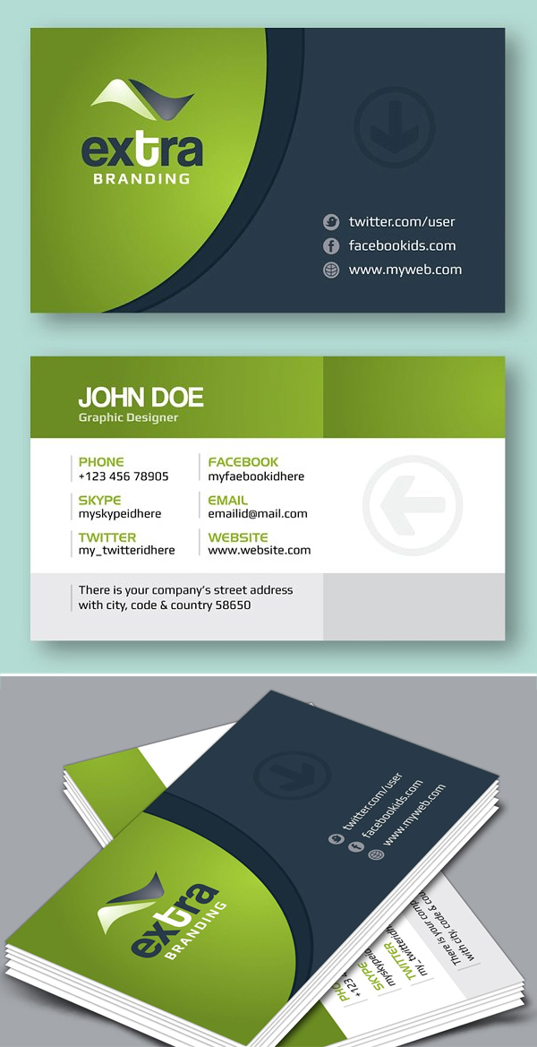 Extra_Creative Business Card