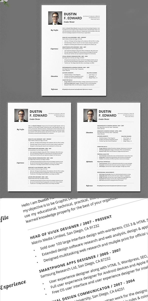 Timeless Resume CV
