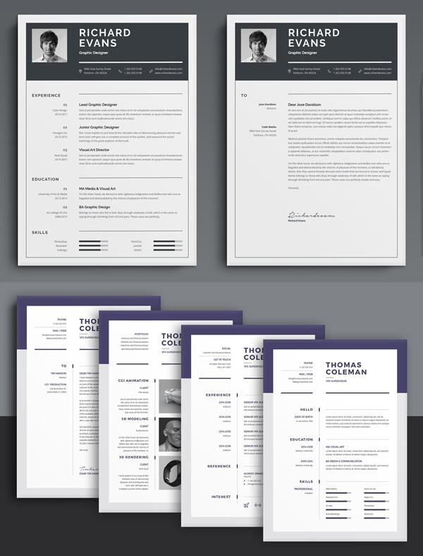 Modern Resume / CV Bundle