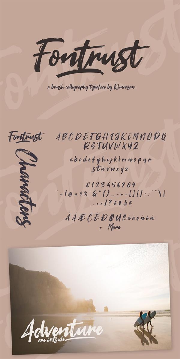 Fontrust Script Font