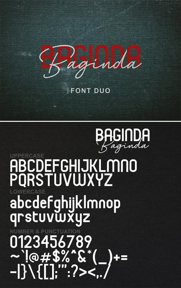 Baginda | Font Duo