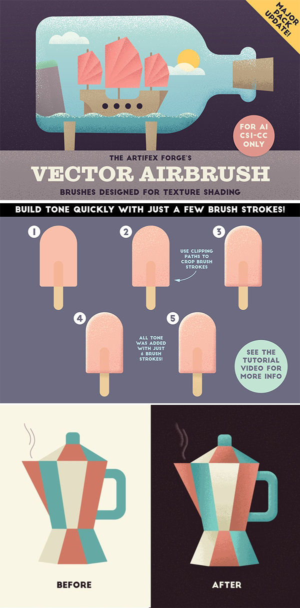 The Vector Airbrush - Shader Brushes