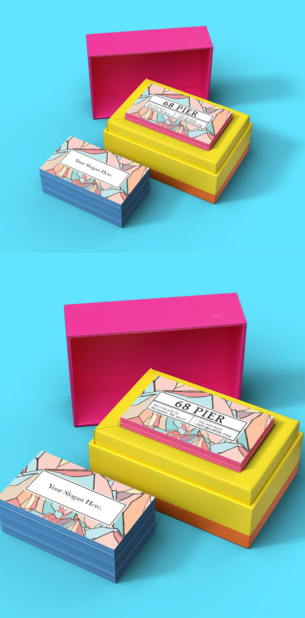 JukeBox Business Card Mockup