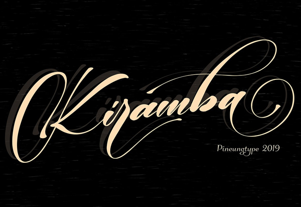 Kiramba Script Free Font