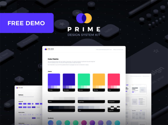 Prime: A UI kit for creating Design Systems
