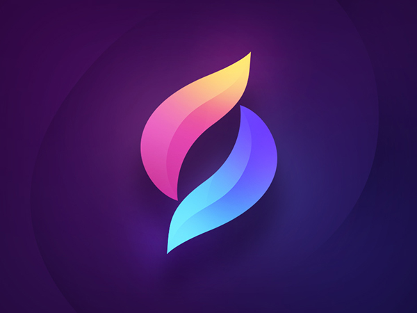 Purple Color Trend in Logo Design - 25 Examples - 4