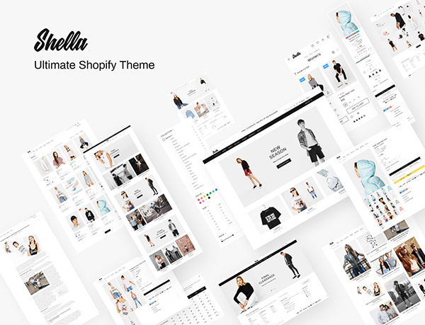 Shella - Ultimate Fast Responsive Shopify theme