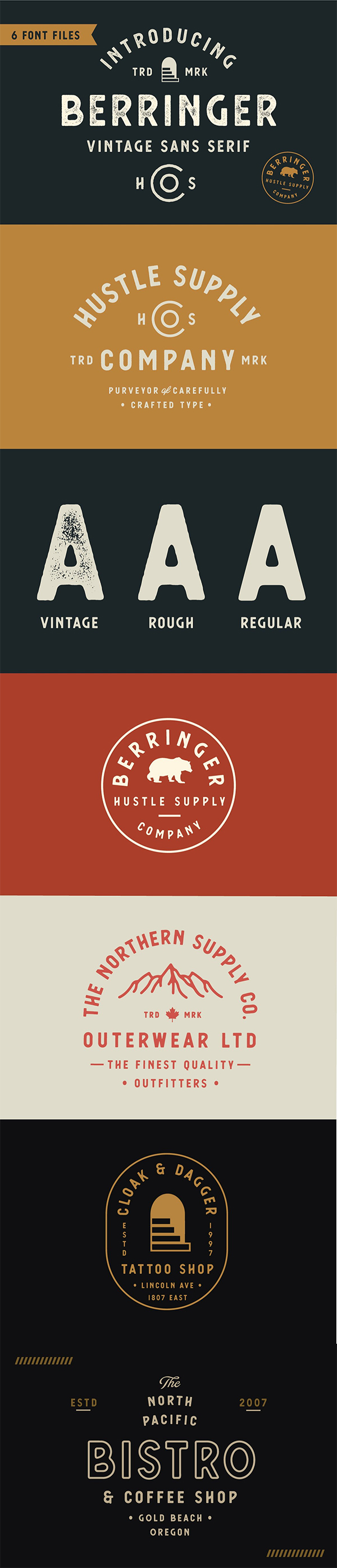 Berringer - Vintage Type Family