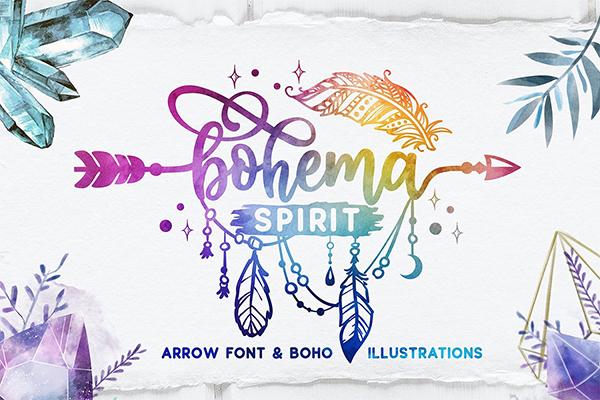 Bohema Spirit Font