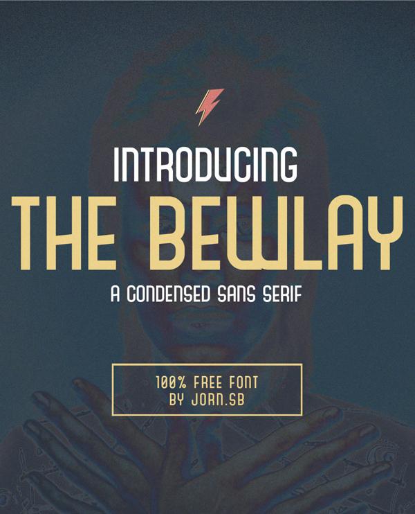 The Bewlay Free Font