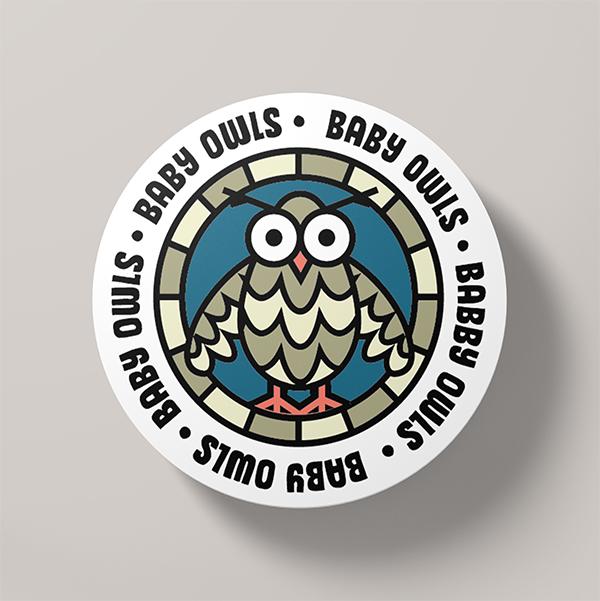 40 Amazing Round Badges Design for Inspiration - 38