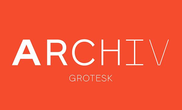 Archiv Grotesk Free Font