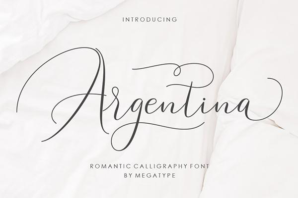Argentina Script Free Font