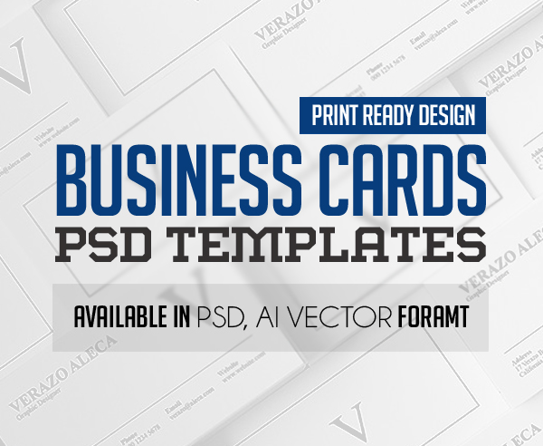 Modern Business Card PSD Templates (30 Print Ready Design)