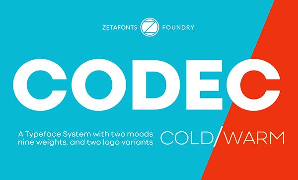 Codec Geometric Sans Serif Free Font