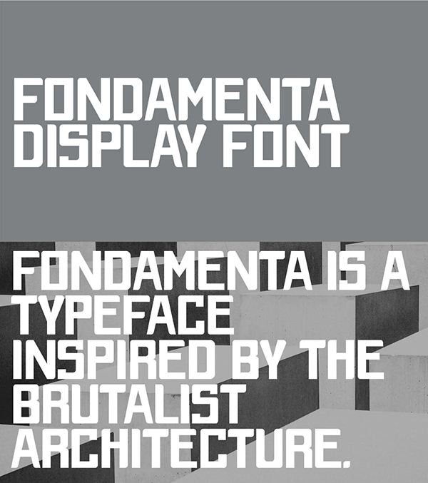 Fondamenta Free Font