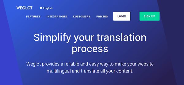 weglot translation plugin for wordpress