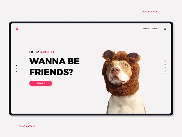 50 Creative Landing Page Design Concepts - 21