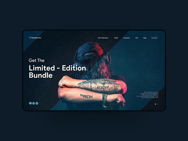 50 Creative Landing Page Design Concepts - 25