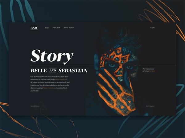50 Creative Landing Page Design Concepts - 32
