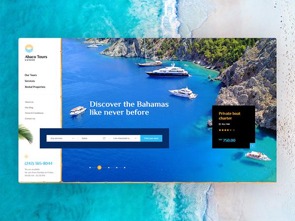 50 Creative Landing Page Design Concepts - 33