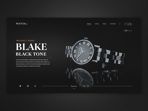 50 Creative Landing Page Design Concepts - 36