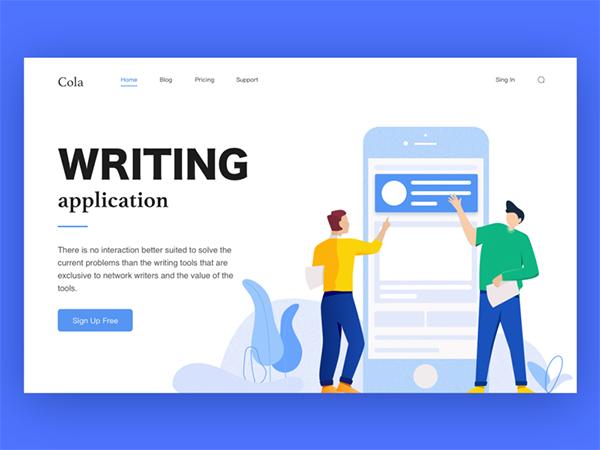 50 Creative Landing Page Design Concepts - 41