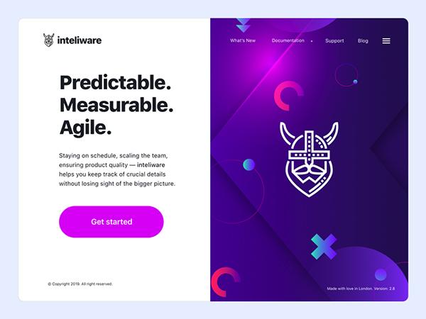 50 Creative Landing Page Design Concepts - 46