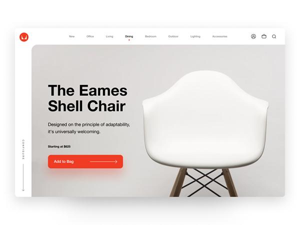 50 Creative Landing Page Design Concepts - 47