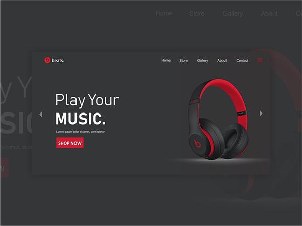 50 Creative Landing Page Design Concepts - 5