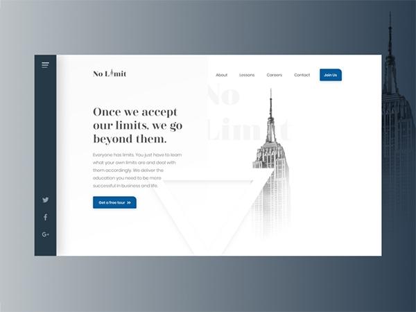 50 Creative Landing Page Design Concepts - 8