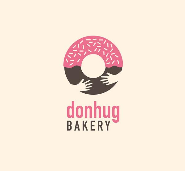 Donhug Bakery Identity By Giada Pozzobon