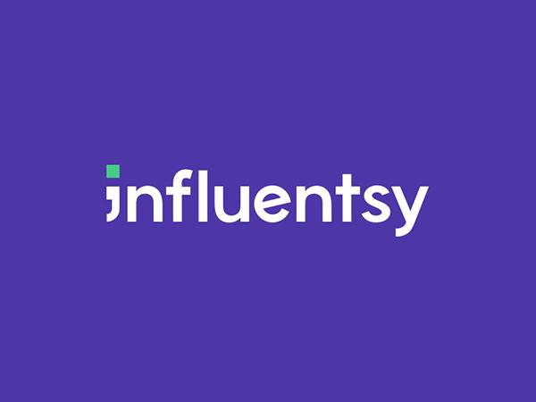 Influentsy Logo by weRock Studio