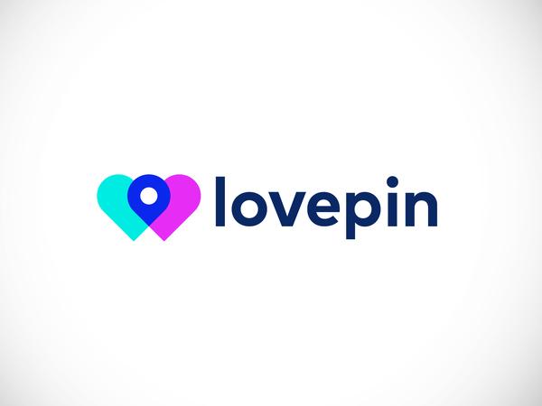 Logo Concept - lovepin by Elena Lazareska